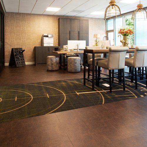 TFD Floortile Touch Leather 1603 pvc vloer project kantoor MPG Mortel BV (26)