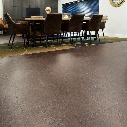 TFD Floortile Touch Leather 1603 pvc vloer project kantoor MPG Mortel BV (9)