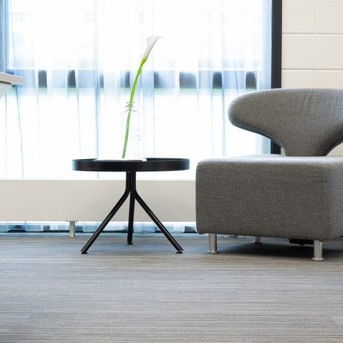 TFD Floortile Woven L+ 401 PVC vloer project Robos Contract Furniture kantoor (10)