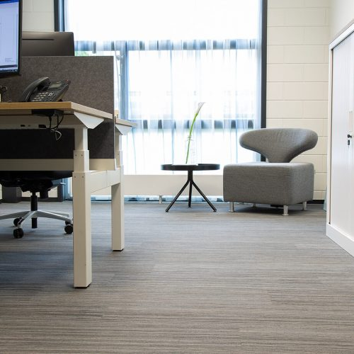 TFD Floortile Woven L+ 401 PVC vloer project Robos Contract Furniture kantoor (12)