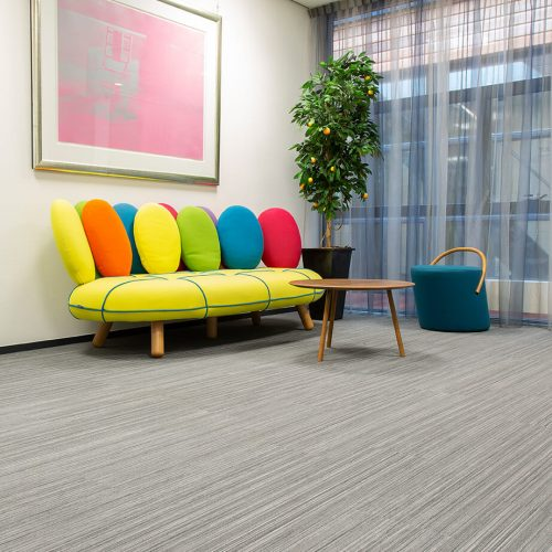 TFD Floortile Woven L+ 401 PVC vloer project Robos Contract Furniture kantoor (8)