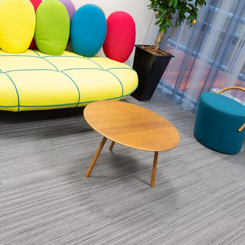 TFD Floortile Woven L+ 401 PVC vloer project Robos Contract Furniture kantoor (9)